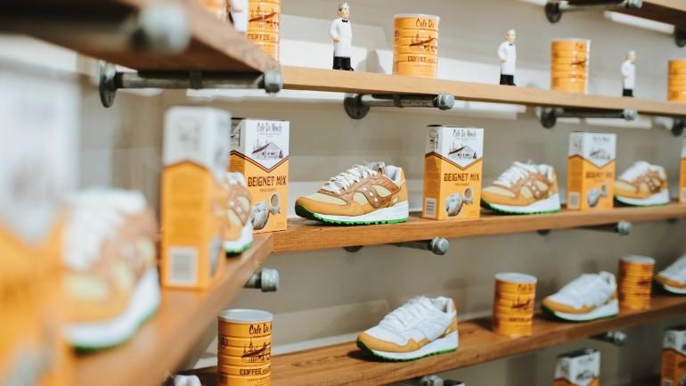 Café du monde: Las nuevas zapatillas inspiradas en un pastel